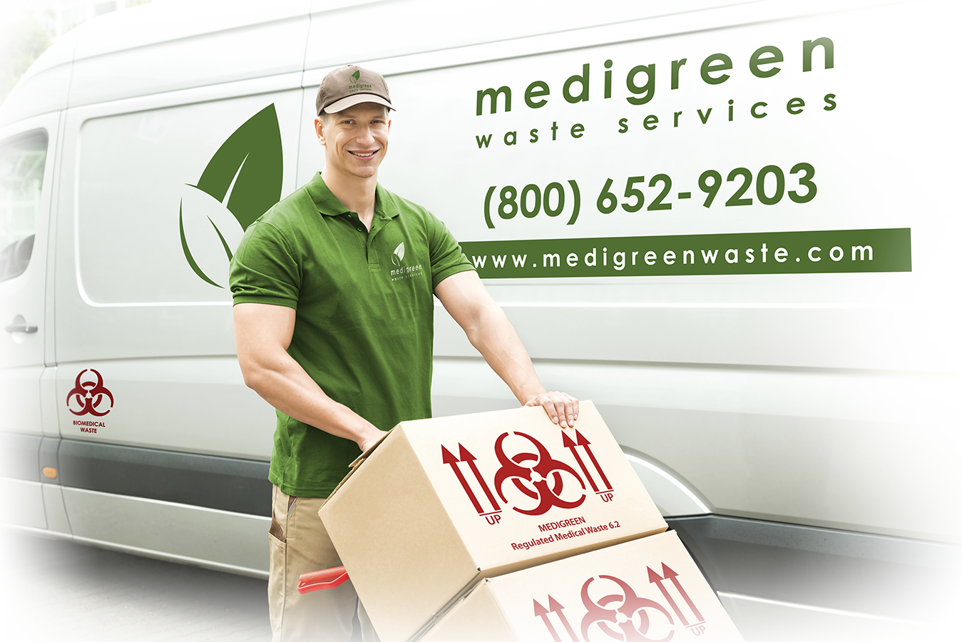 MEDIGREEN DRIVER and VAN_small